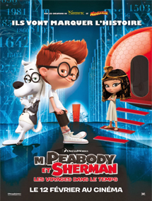 Poster nuevo de Mr. Peabody and Sherman (Las aventuras de Peabody y Sherman)