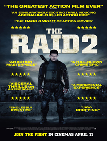 Poster mediano de The raid 2: Berandal