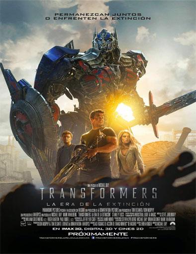Poster de Transformers 4: La era de la extinción