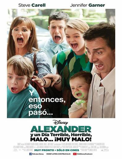 Poster de Alexander y el día terrible, horrible, malo... ¡muy malo!