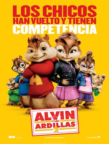 Poster de Alvin y las ardillas 2