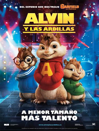 Poster de Alvin y las ardillas