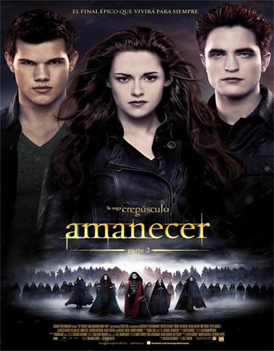 La saga Crepusculo: Amanecer – Parte 2