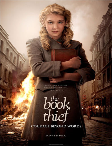 Poster de The Book Thief (La ladrona de libros)