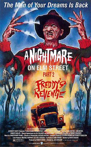 Poster de Pesadilla en Elm Street 2: La venganza de Freddy
