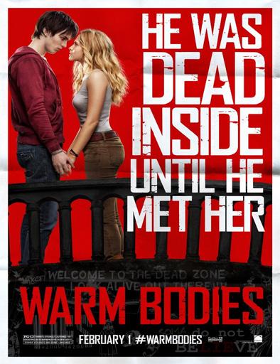 Poster de Warm Bodies (Mi novio es un zombie)