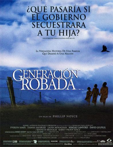 Poster online de Generación robada