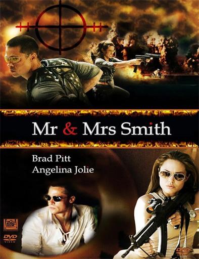 Poster de Mr. & Mrs. Smith (Sr. y Sra. Smith)