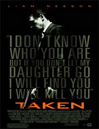 Poster de Taken (Búsqueda implacable)