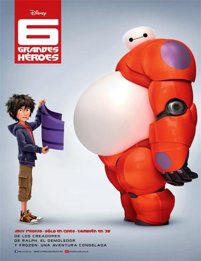 Poster de Big Hero 6 (6 Grandes Héroes)
