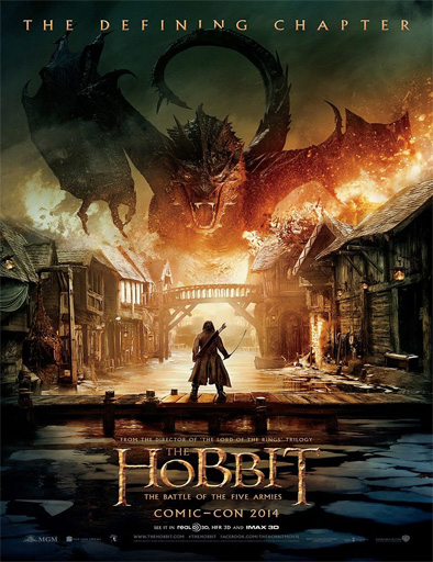 Poster de El Hobbit: La batalla de los Cinco Ejércitos
