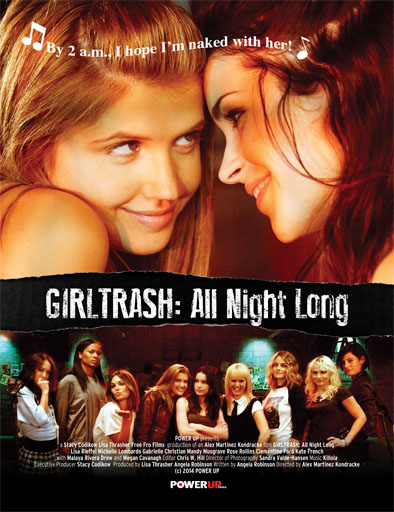 Ver Girltrash: All Night Long (2014) online