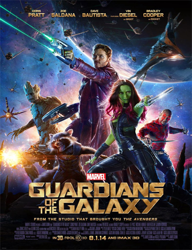 Poster de Guardians of the Galaxy