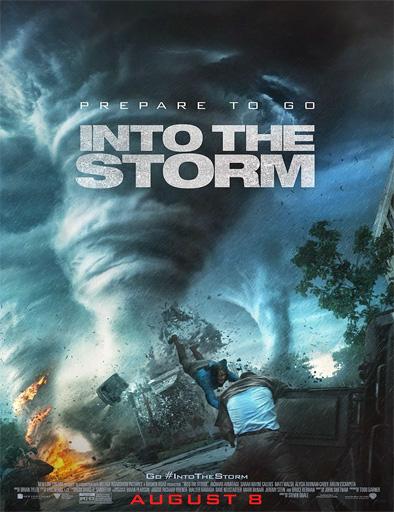 Poster de Into the storm (En el ojo de la tormenta)