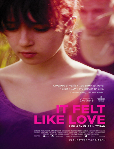 Ver It Felt Like Love (2013) online