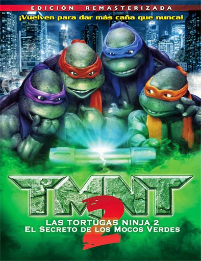 Las Tortugas Ninja 2 (Teenage Mutant Ninja Turtles II: The Secret of the Ooze) (1991) [DVD-Rip]