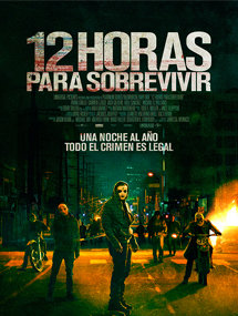 Poster mediano de The Purge 2: Anarchy (12 horas para sobrevivir)