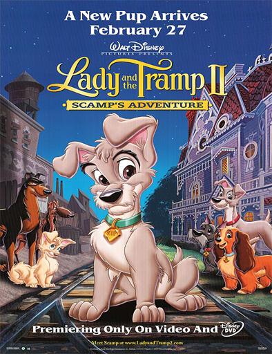 Ver La dama y el vagabundo 2 (Lady and The Tramp II) (2001) online