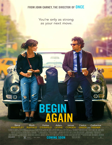 Poster de Begin Again (La canción de tu vida)
