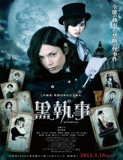 Kuroshitsuji Black Butler poster japon Kuroshitsuji [Black Butler] [2014] [BrRip] [Sub Español]