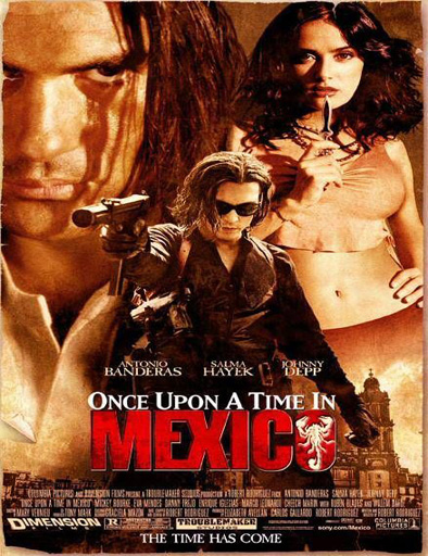 Poster de Once Upon a Time in Mexico (El mexicano)
