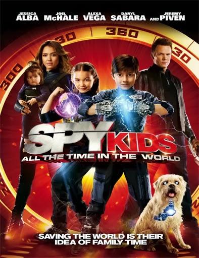 Ver Spy Kids 4 Mini Espías 4 Los Ladrones Del Tiempo 2011 Online