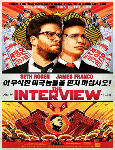 Poster de The Interview (Una Loca Entrevista)