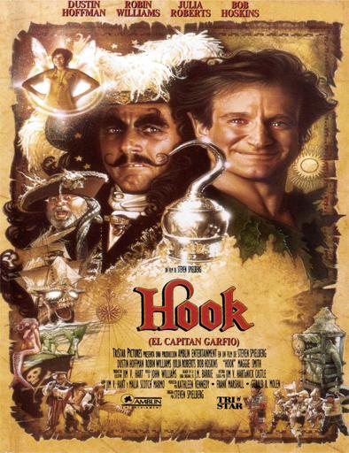 Poster de Hook, el regreso del capitan Garfio