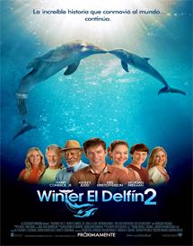 Poster mediano de Dolphin Tale 2 (Winter El Delfín 2)