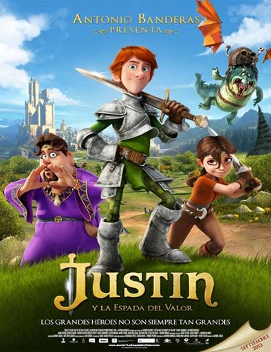 Poster de Justin y la espada del valor (Justin, el caballero valiente)