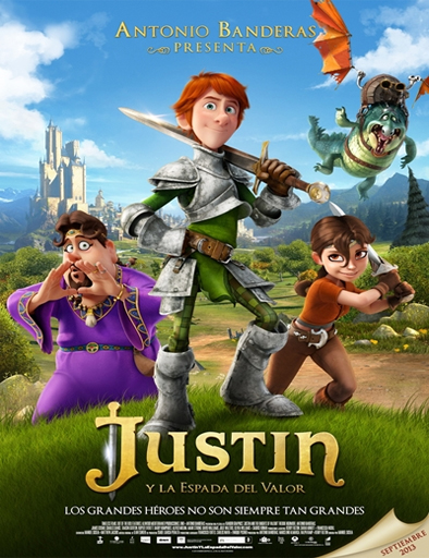 Poster de Justin y la espada del valor
