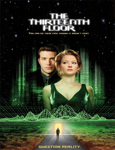ver the thirteenth floor el piso 13 1999 online On piso 13 pelicula