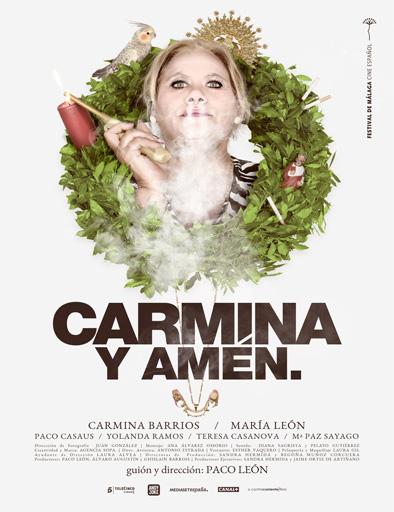 Poster de Carmina y amén