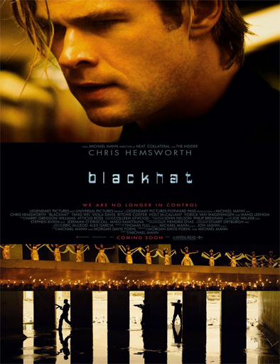 Poster de Blackhat (Amenaza en la red)