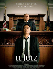 Poster mediano de The Judge (El juez)