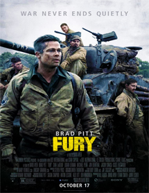 Poster mediano de Fury (Corazones de acero)