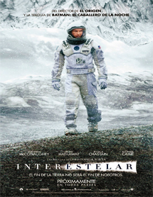 Poster mediano de Interstellar