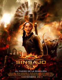 Poster mediano de Los juegos del hambre: Sinsajo. Parte 1