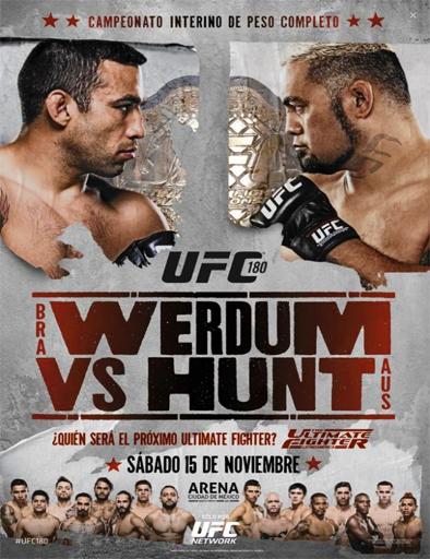 Poster de UFC 180: Werdum vs. Hunt