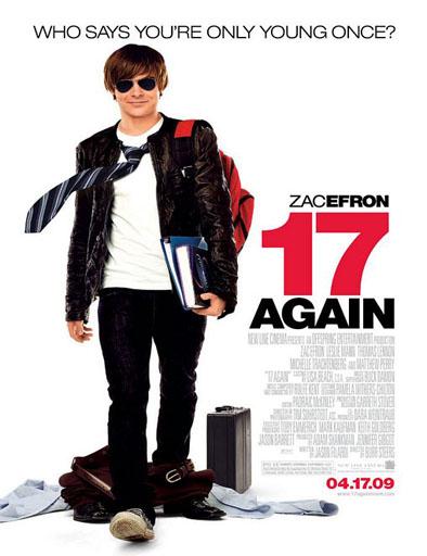 Poster de 17 Again (17 otra vez)
