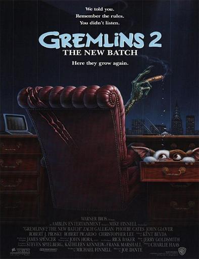 Poster de Gremlins 2. La nueva generación