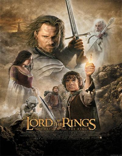 Poster de El señor de los anillos 3: El retorno del rey