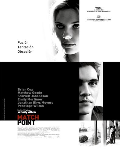 Poster de Match Point (La provocación)