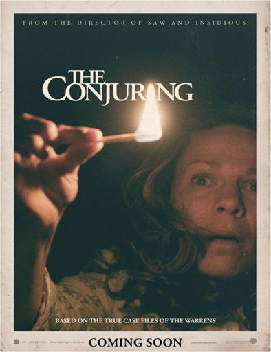 Poster de The Conjuring (El conjuro)