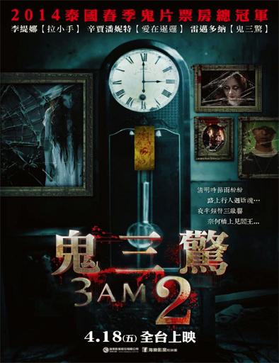 Poster de 3 A.M. 3D: Part 2 (Ti Sam Khuen Sam 3D)