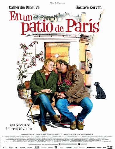 En un patio de París ( Dans la cour)