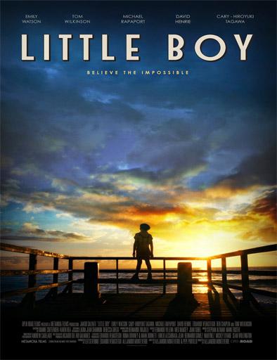 Poster de Little Boy (El gran pequeño)