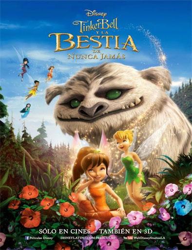 Ver Tinkerbell y la bestia de Nunca Jamás (2014) online