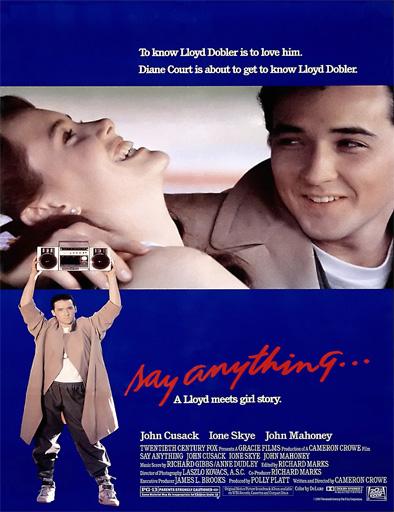 Poster de Say Anything... (Digan lo que quieran)