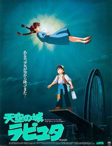 1986 - PREMIOS CRUZ DEL SUR  Tenk%C3%BB_no_Shiro_Rapyuta_poster_jap%C3%B3n